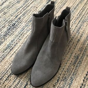Marc Fisher Gray Boots